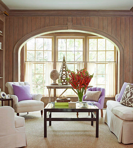 5 Curtain Ideas For Bay Windows Curtains Up Blog: Window Design Ideas: Bay Windows