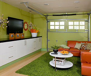 Use Garage As Games Room Planning