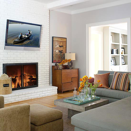 living room brick fireplace brick fireplaces 12841