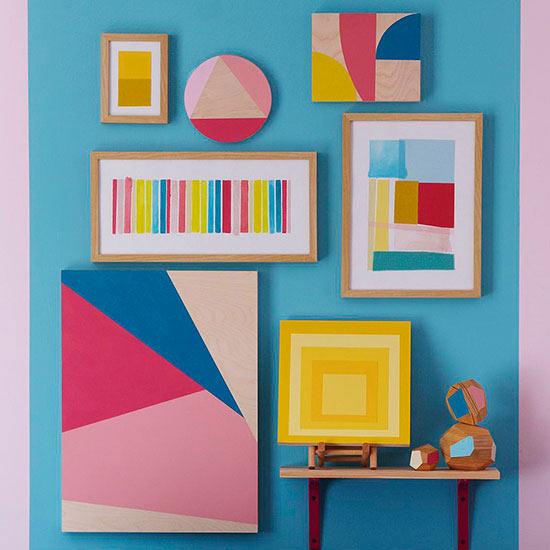 Color-Blocking Wall Art Techniques
