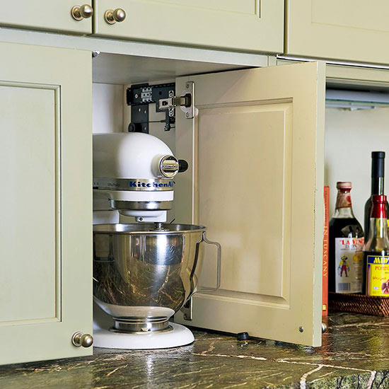 Appliance Cabinets Kitchens: Options For Appliance Garages