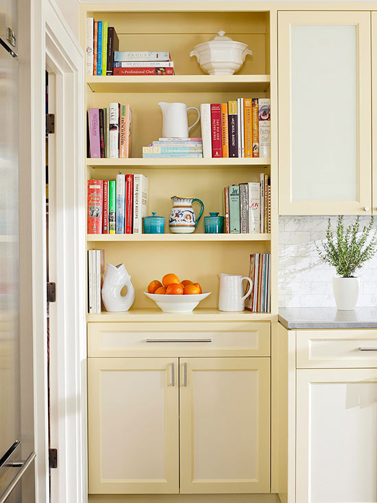 Cook Up Built-In Storage