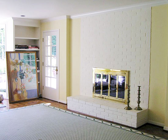 Before And After: Fireplace Makeovers