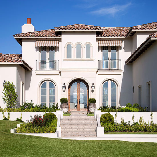 Exterior Pictures Of Mediterranean Style Homes Cities: Mediterranean-Style Home Ideas