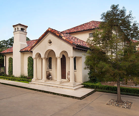 Mediterranean style home ideas for Mediterranean roof styles