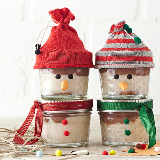 Christmas food gifts recipes wrapping ideas using jars Christmas gift ideas for cooking lovers