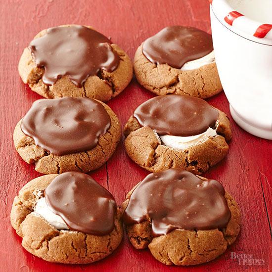 Chocolate-Marshmallow Cookies