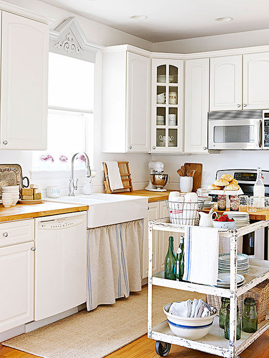 How To Stretch A Small Kitchen Budget - Remodeling small kitchen on a budget
