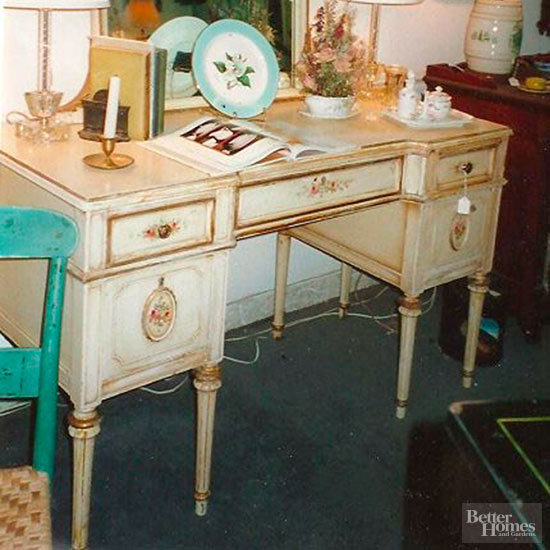 Before Fussy Desk