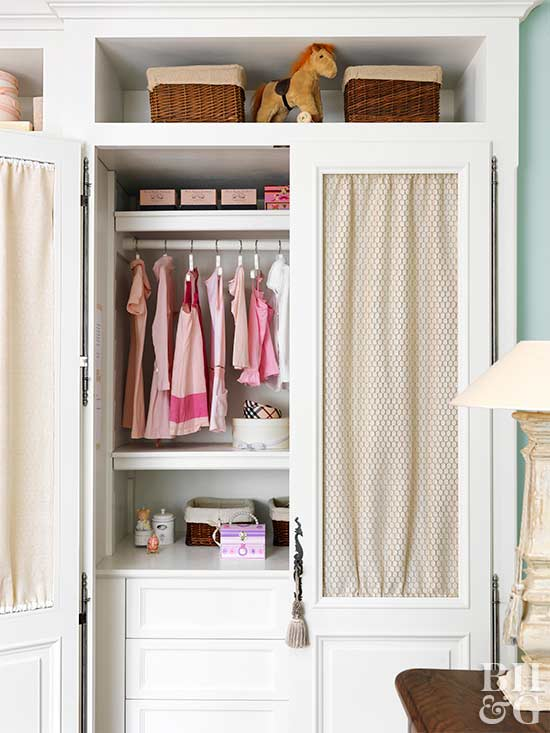 Kid friendly closet ideas for Kids room closet ideas