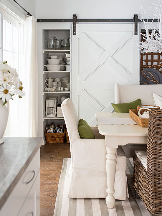 Add A Sliding Barn Door