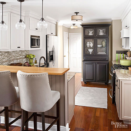 Awkward Kitchen Layout Solutions: Before And After Kitchen Makeovers