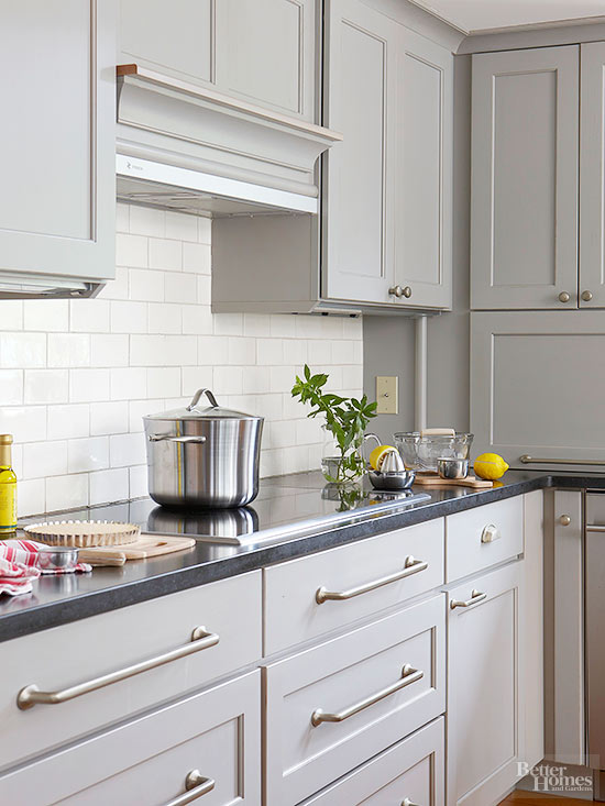 Silver Is The Most Common Color Of Hardware Used With Gray Kitchen Cabinets,  But That Shouldnu0027t Keep You From Branching Out. If You Have A Warm Tone Gray,  ...