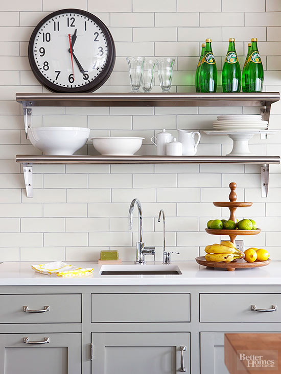 White backsplash ideas Kitchen backsplash ideas bhg