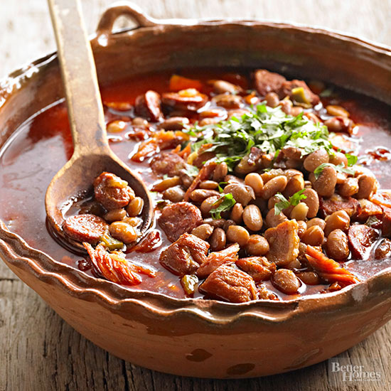 Pinto Beans On Chocolate Cake