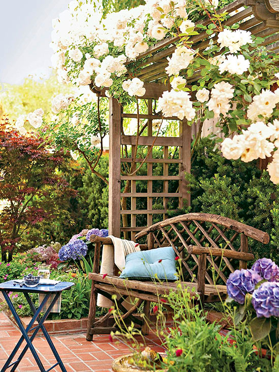 Small space landscaping ideas for Garden designs for small spaces