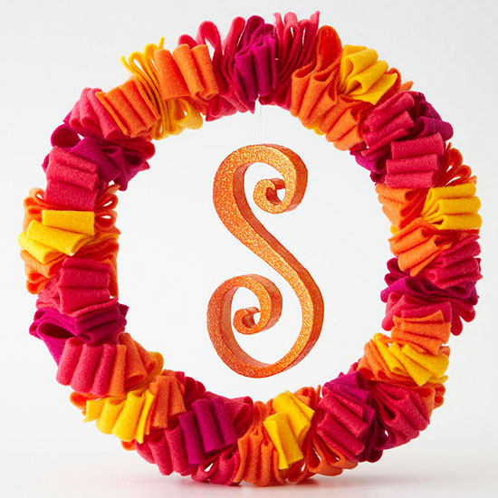 Letter-Perfect Wreath