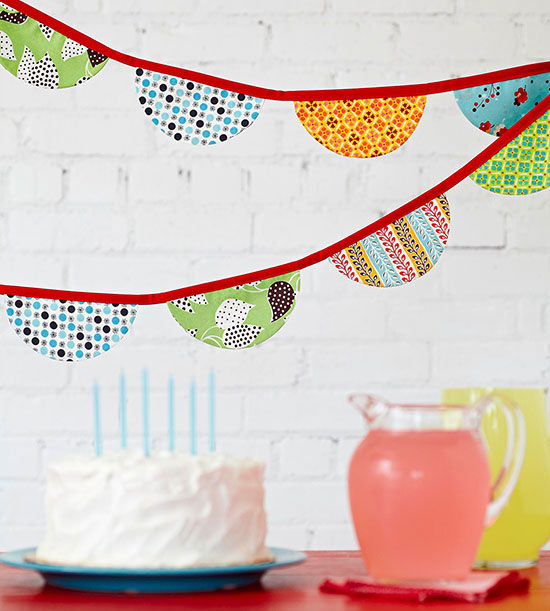 Scallop Bunting Banner