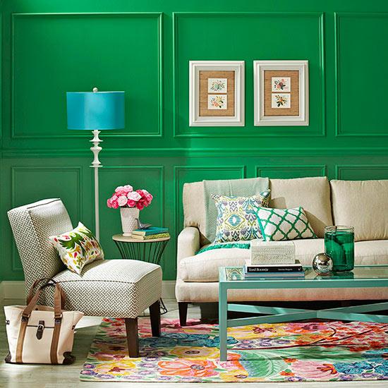 Colorful Room Decor Paint: Crazy, Unique Paint Colors That Just Work