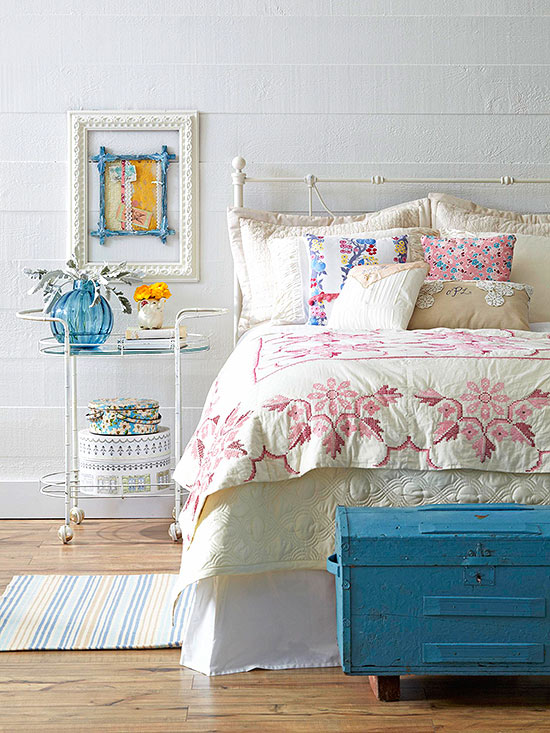 Vintage bedroom ideas for Bed styles images