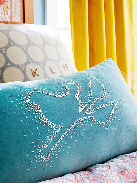 No-Sew Pillow Ideas