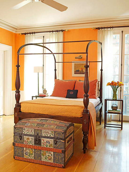 What Colors Go With Orange
