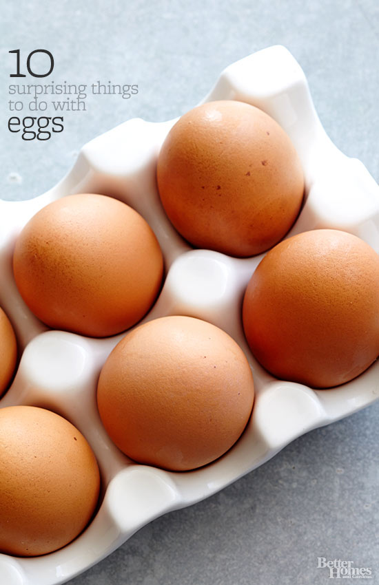 10 Surprising Things to Do with Eggs