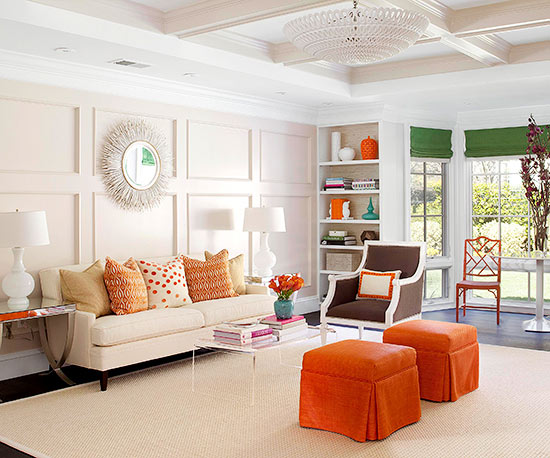 what colors go with orange. Black Bedroom Furniture Sets. Home Design Ideas