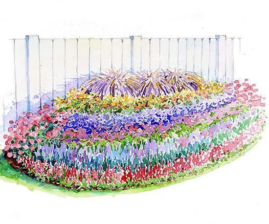 Purple Passion Garden Plan