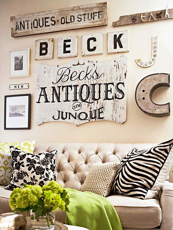 Decorating With Flea Market Finds Home