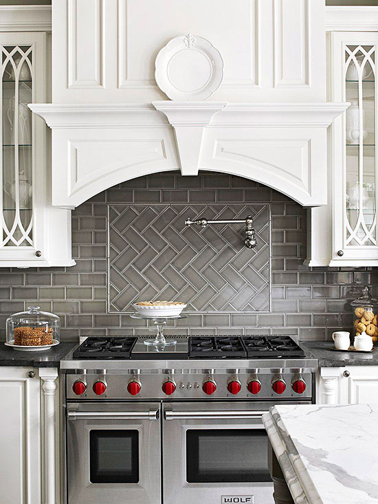 Bhg Kitchen Design Style range hood ideas