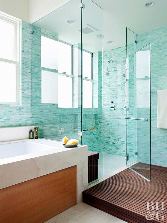Two-Person Shower Rooms