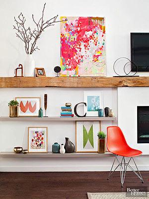 decorating shelves in living room. Ideas for Floating Shelves Tips Arranging  Organizing Bookshelves