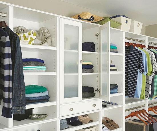 Small walk in closet design ideas - Closet design for small spaces design ...