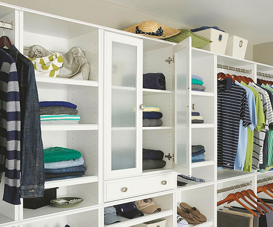 Make A Small Walk In Closet More Functional