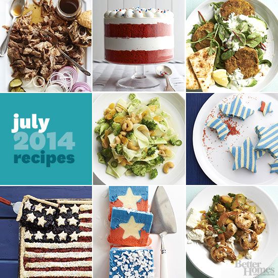Better Homes And Gardens July 2014 Recipes