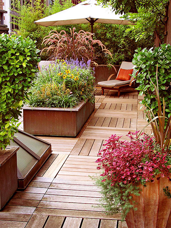 Landscape Tips for Decks, Patios, and Pools