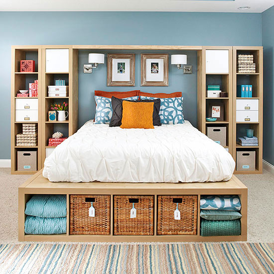 Interior Creative Ideas For Bedrooms master bedroom storage build your own storage