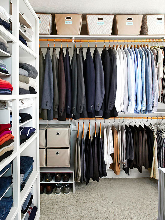 Genial Walk In Closet Organization Is Essential To A Streamlined Routine. Itu0027s  Important To Give Every Single Item A Proper, Reachable Place When  Organizing A ...