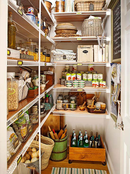 Captivating Pretty Flea Market Storage For Pantries