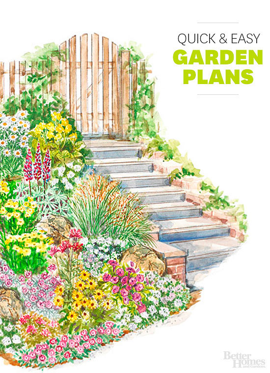 Better Homes And Gardens Garden Plans Home Design