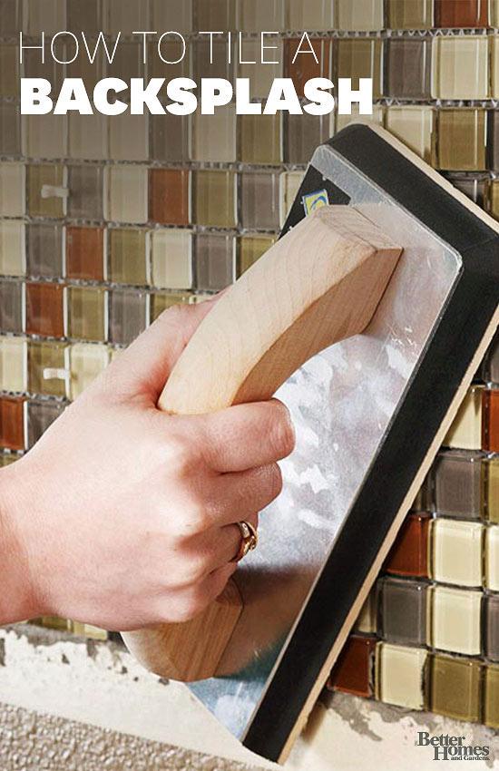 Tile a Backsplash