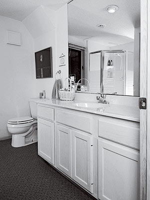 Bathroom Makeovers - Cosmetic bathroom makeover