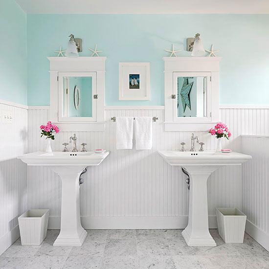 Beachy Bathroom