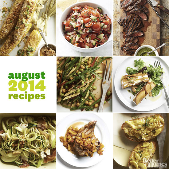 Better Homes And Gardens August 2014 Recipes