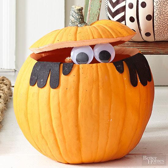 Peek-a-BOO! Pumpkin Stencil
