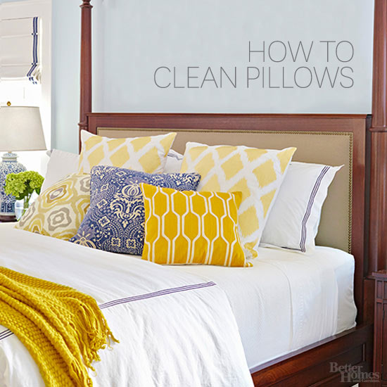 how to clean a sentimentshome pillow