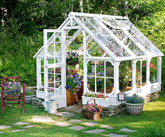 recycled materials - Garden Sheds With Greenhouse