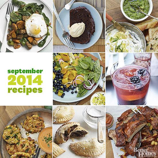 Better Homes And Gardens September 2014 Recipes