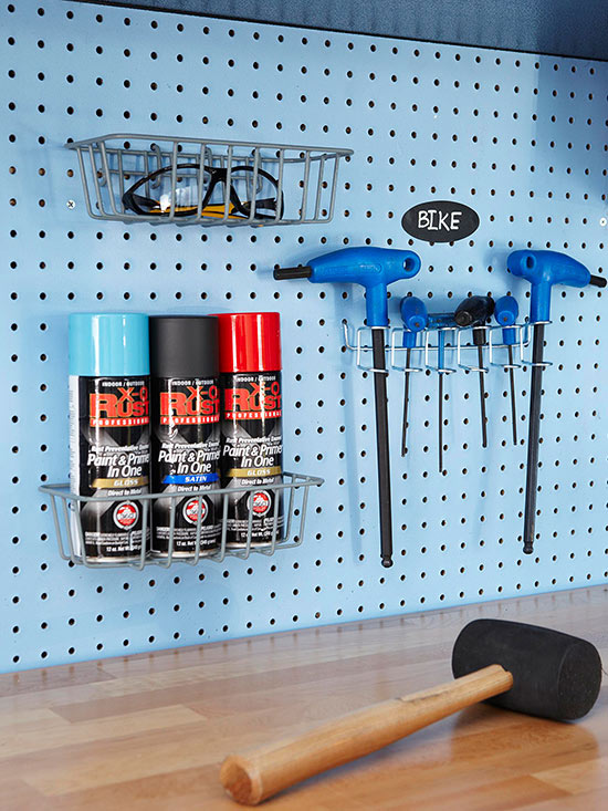 Diy Pegboard Storage Projects